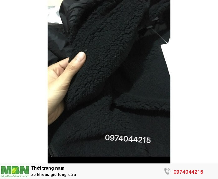 Áo khoác gió lông cừu1