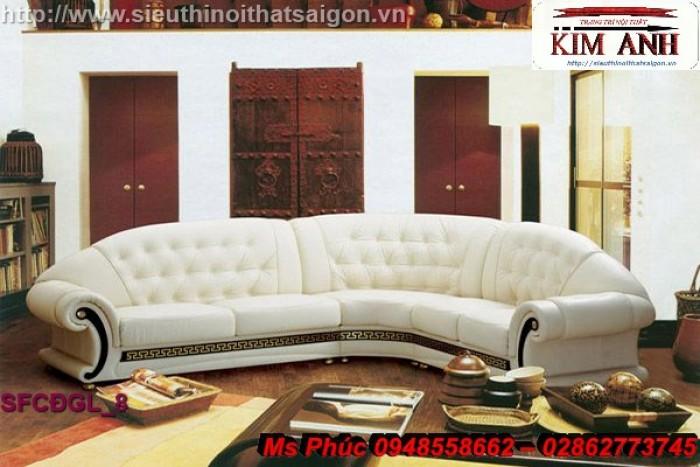 Sofa cổ điển góc L | bàn ghế tân cổ điển thanh lý tại gò vấp20