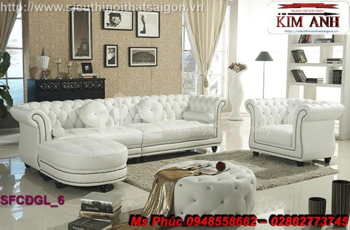 xưởng sản xuất sofa cổ điển góc l26
