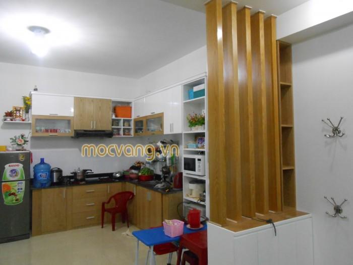 Kệ bếp tận dụng tối đa cho căn hộ0