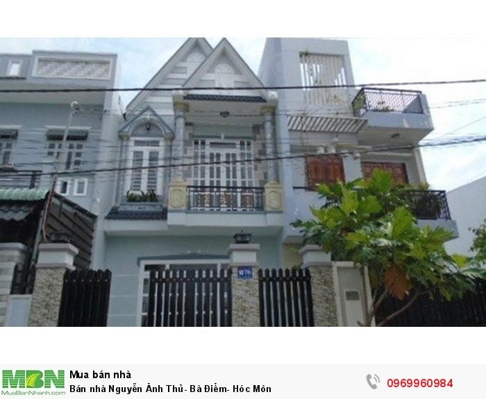 Bán nhà Nguyễn Ảnh Thủ - Bà Điểm - Hóc Môn