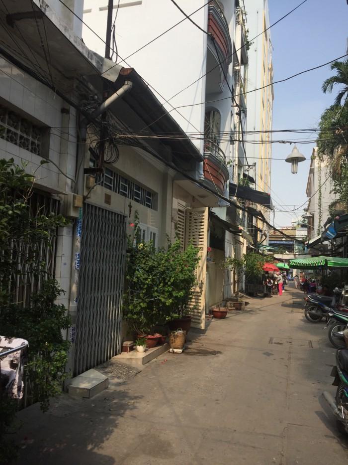 Chính chủ bán nhà Cô Giang-Cô Bắc,4x18m,