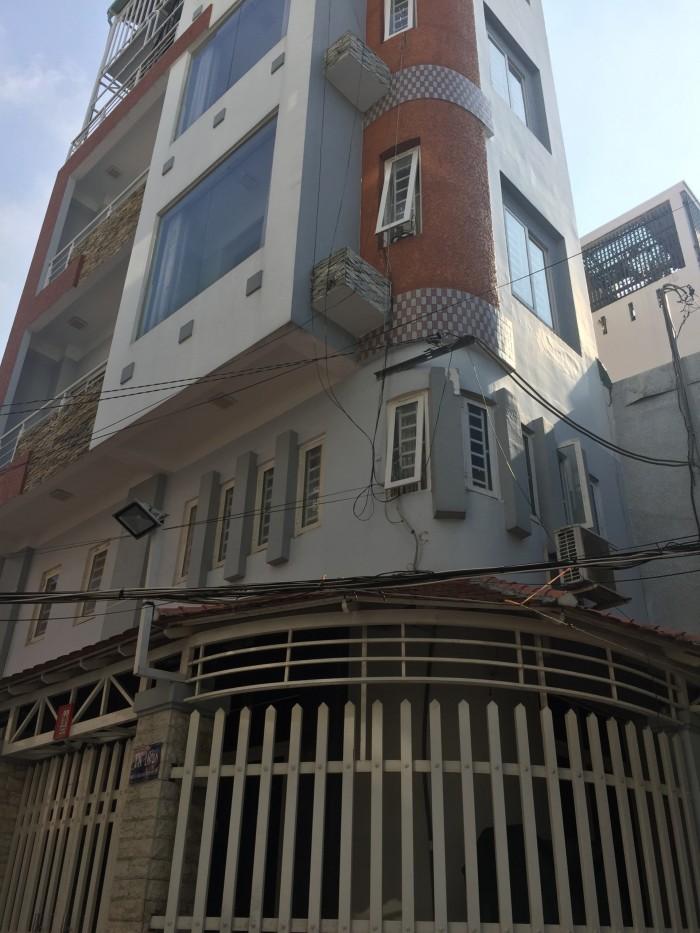 Xuất ngoại bán gấp nhà góc 2MT Thành Thái,4.5x15m
