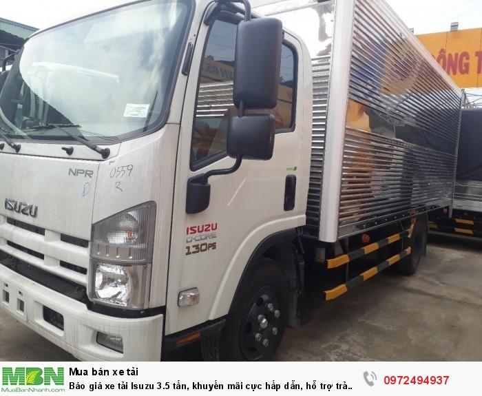 Đóng thùng chuyên dùng xe tải isuzu 3.5 tấn