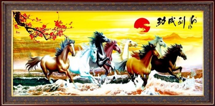 Tranh ngựa 3d vn662