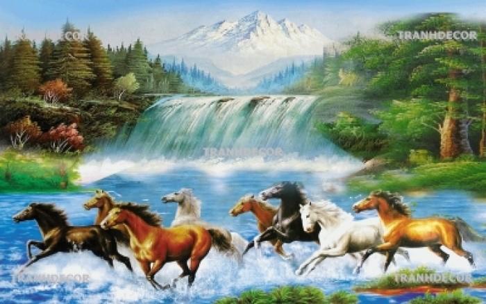 Tranh ngựa 3d vn661