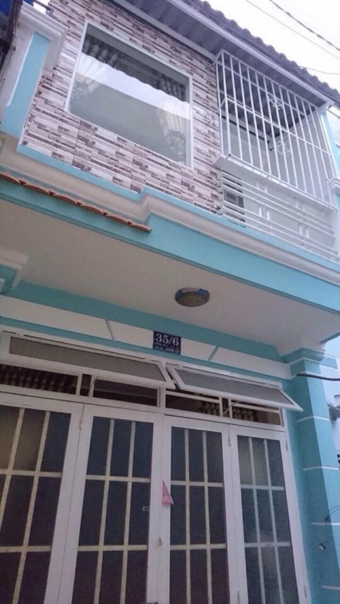 Nhà 1 xẹc đường số 44 f14 Gò Vấp đúc 1 tấm shr