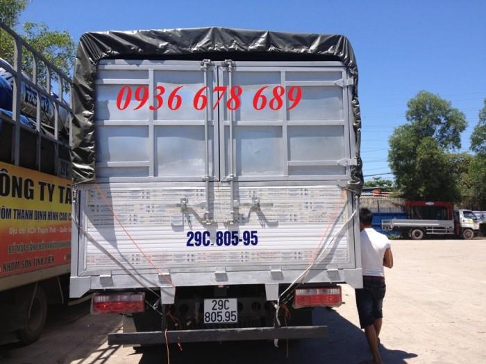 Đại lý bán xe tải faw 7T25 (7 tấn 25) - faw 7.25 tấn thùng dài 6m3,đời mới nhất