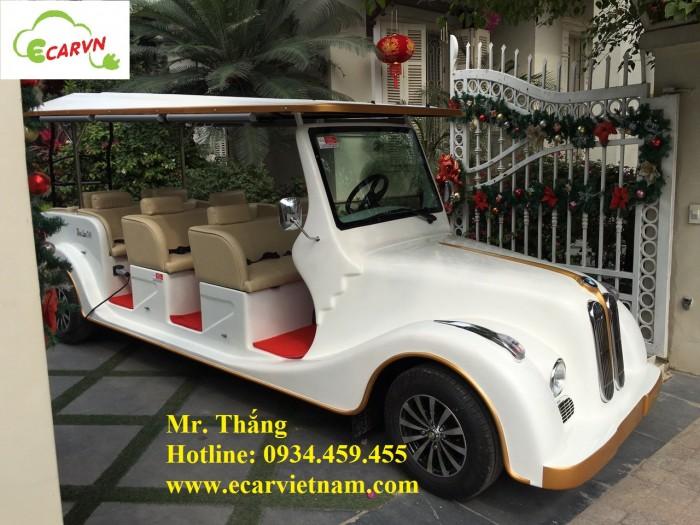 Bán xe điện cổ 8 chỗ tại Hà Nội