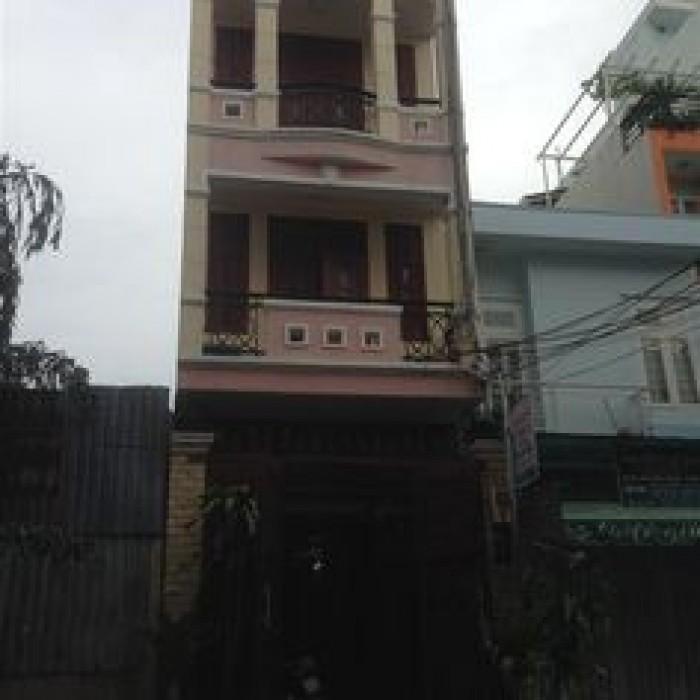 Bán nhà mặt tiền đường Trần Hữu Trang quận Phú Nhuận 4.2m x 14