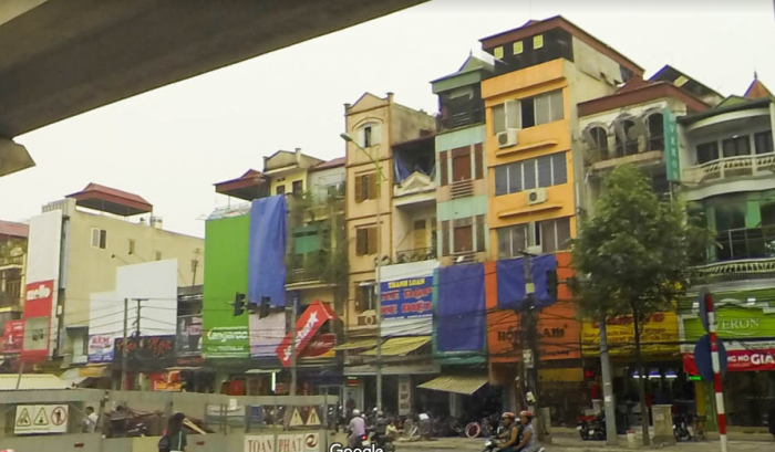 Bán nhà mặt phố Quang Trung – Quận Hà Đông, DT 135m2, mặt tiền 5,5m.