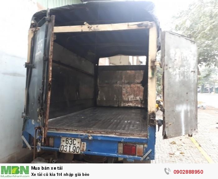 Xe tải cũ kia 1t4 nhập giá bèo 2