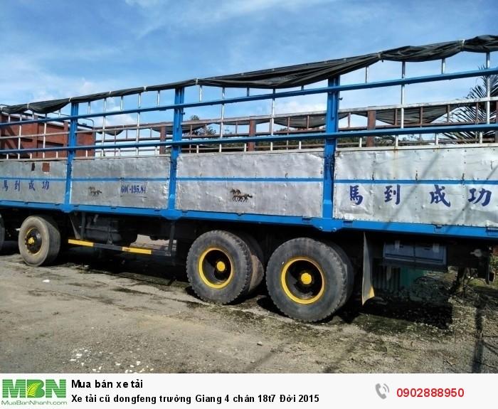Xe tải cũ dongfeng trường Giang 4 chân 18t7 Đời 2015 0