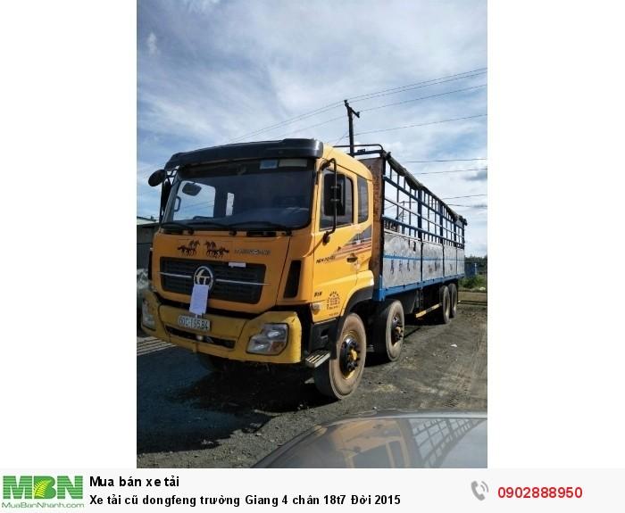 Xe tải cũ dongfeng trường Giang 4 chân 18t7 Đời 2015 3