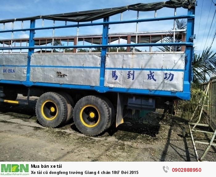 Xe tải cũ dongfeng trường Giang 4 chân 18t7 Đời 2015 2