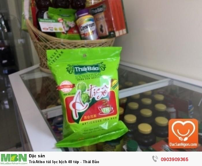 Trà Atiso túi lọc bịch 40 tép Thái Bảo đặc sản ngon từ Đà Lạt1