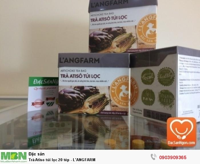 Trà Atiso túi lọc L'ANGFARM 20 tép đặc sản Đà Lạt1