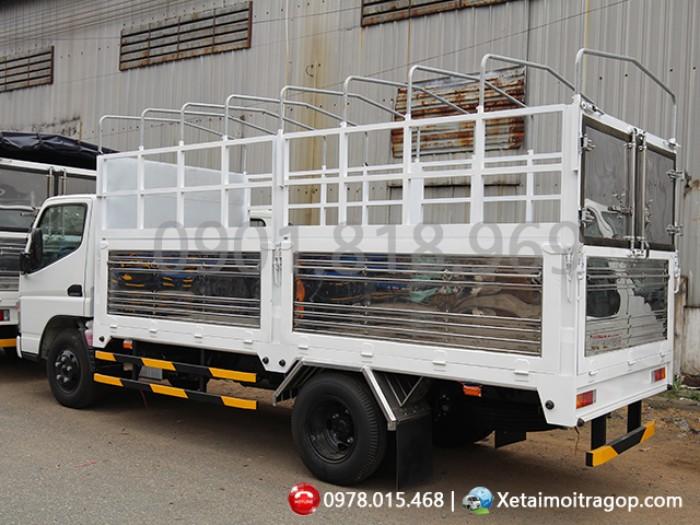 Xe Tải Fuso 1T9 Thùng Kín, xe tải fuso canter 4.7LW 1 tấn 9 Bao Vay 95% các Tỉnh