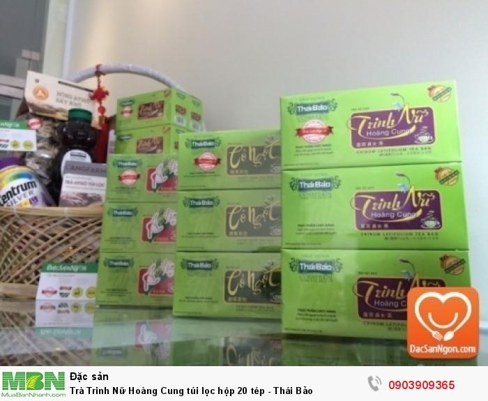 Trà Trinh Nữ Hoàng Cung túi lọc hộp 20 tép Thái Bảo đặc sản Đà Lạt1
