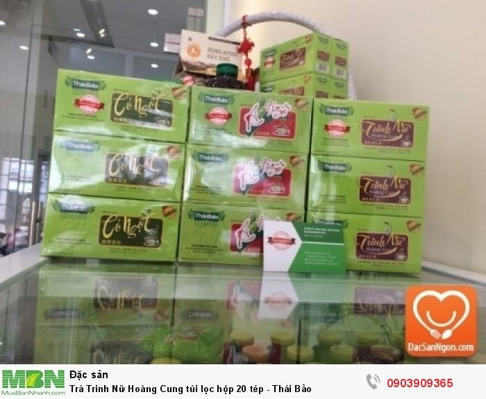 Cung cấp sỉ và lẻ Trà Trinh Nữ Hoàng Cung túi lọc hộp 20 tép Thái Bảo đặc sản Đà Lạt giá sỉ4