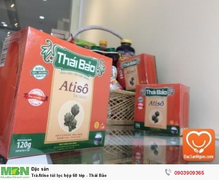 Trà Atiso túi lọc hộp 60 tép thương hiệu Thái Bảo0