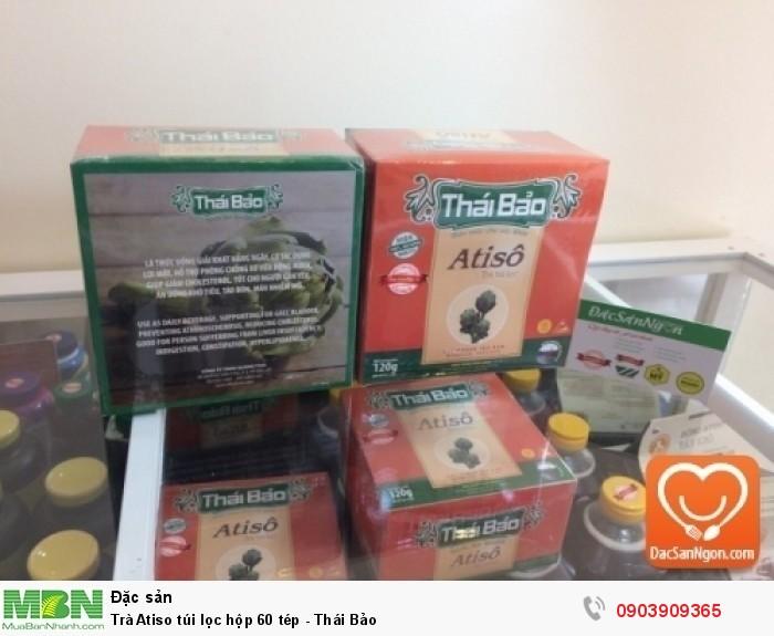 Trà Atiso túi lọc hộp 60 tép Thái Bảo đặc sản Đà Lạt2