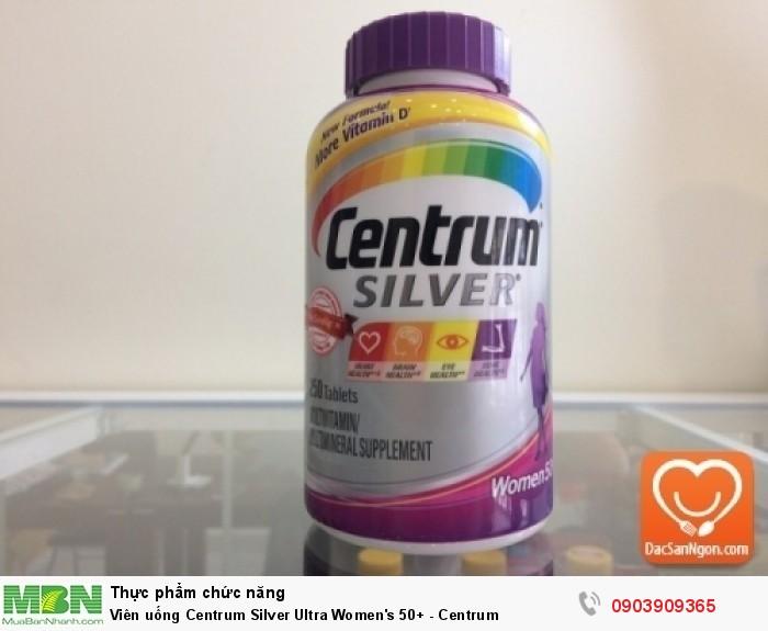 Centrum® Silver® (thương hiệu Vitamin tại Mỹ)3