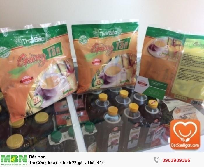 Trà Atiso túi lọc bịch 40 tép Thái Bảo đặc sản ngon từ Đà Lạt2