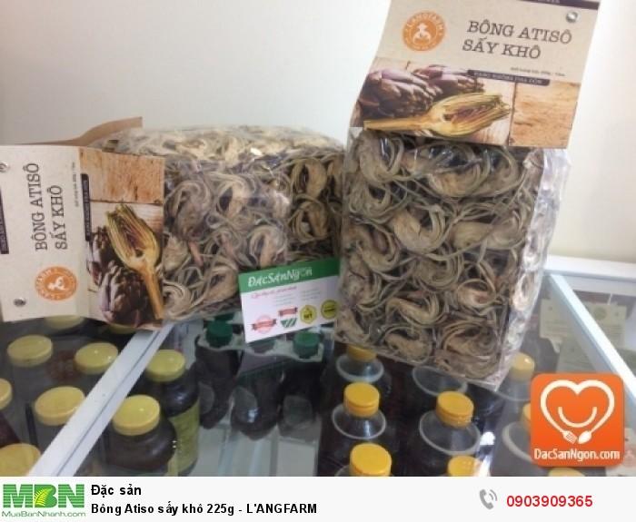 Bông Atiso sấy khô 225g thương hiệu đặc sản Đà Lạt L'ANGFARM3