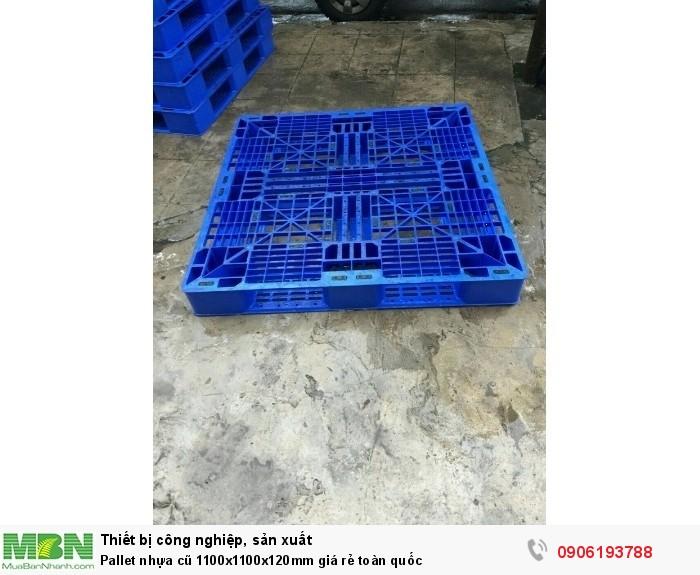 Pallet nhựa cũ 1100x1100x120mm giá rẻ toàn quốc. Cam kết phí vận chuyển rẻ nhất. Liên hệ: 0906193788 (24/24)3