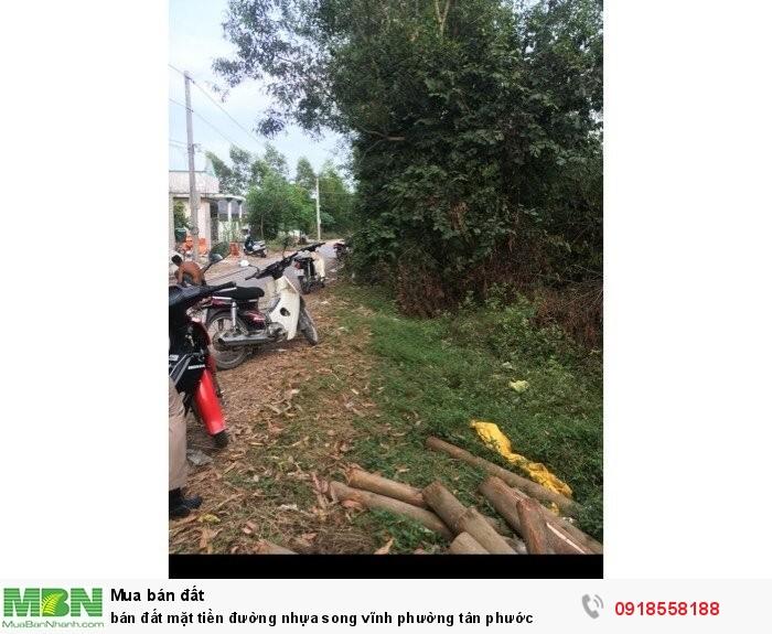 Bán đất mặt tiền đường nhựa Song Vĩnh, Phường Tân Phước