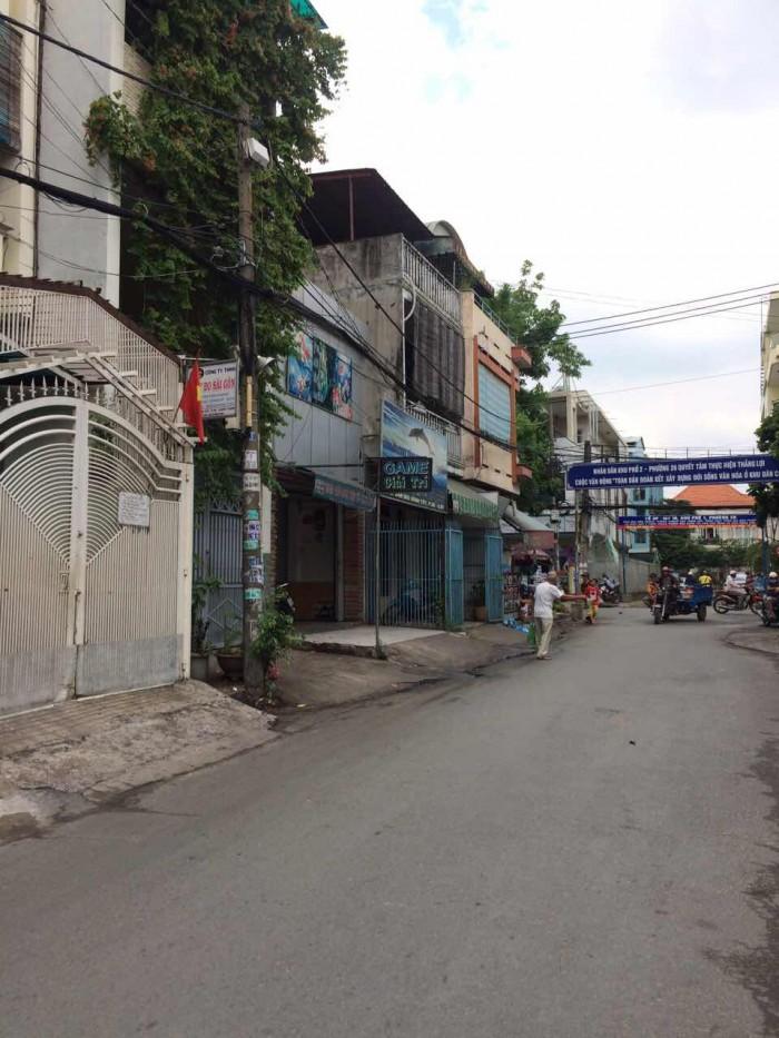MT Bùi Đình Túy. 4.2x18.8. 4 lầu.