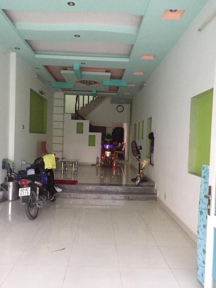 Nhà 1 trệt 2 lầu mặt tiền đường D4 nằm ngay cửa ngõ vào Khu dân cư D2D
