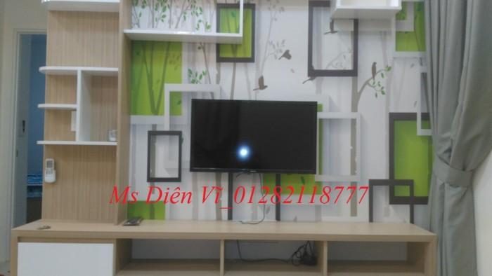 Cho thuê nhanh căn hộ 3 pn, gần  full nội thất mới, view đẹp, Masteri Mone quận 7