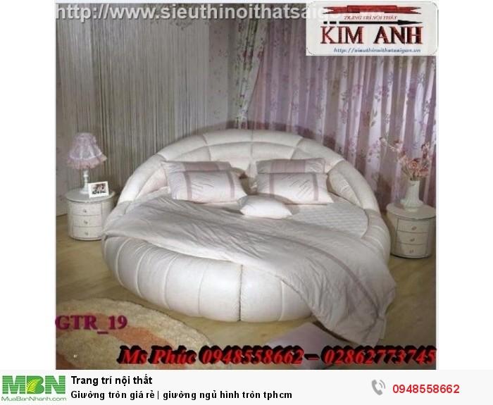 Mẫu giường tròn công chúa đẹp giá rẻ, sx & lắp đặt theo kích thước TPHCM4