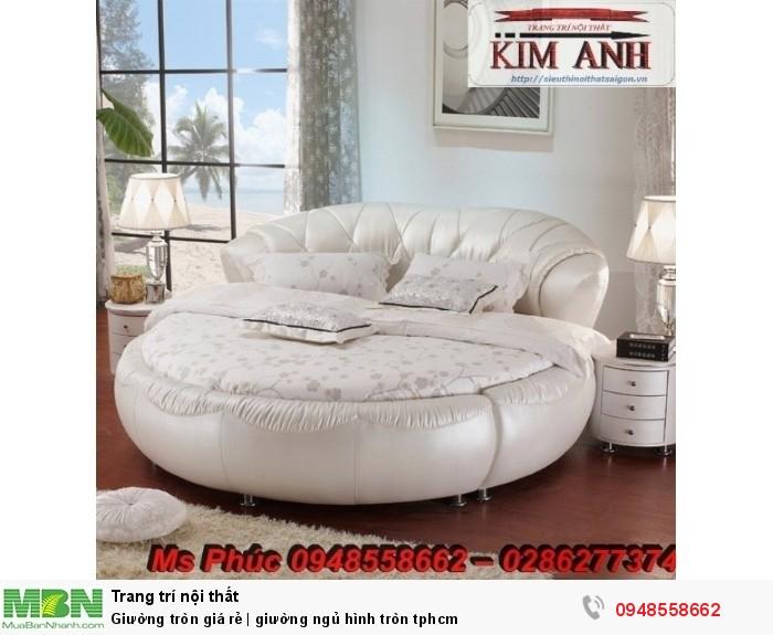 Mẫu giường tròn công chúa đẹp giá rẻ, sx & lắp đặt theo kích thước TPHCM12