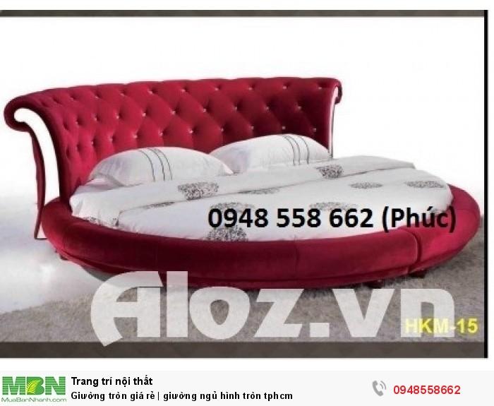 Mẫu giường tròn công chúa đẹp giá rẻ, sx & lắp đặt theo kích thước TPHCM20