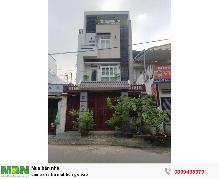 Cần bán nhà mặt tiền Gò Vấp