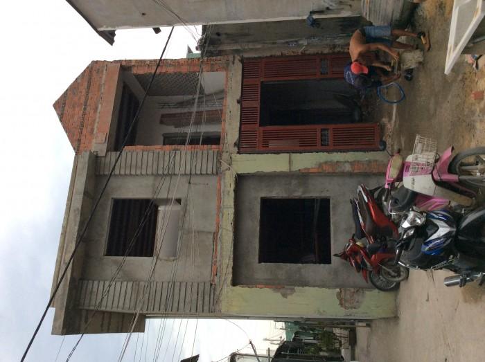 Nhà 2 mặt tiền 60m2 SHR Thạnh Lộc 15 cách ngã tư Ga 500m