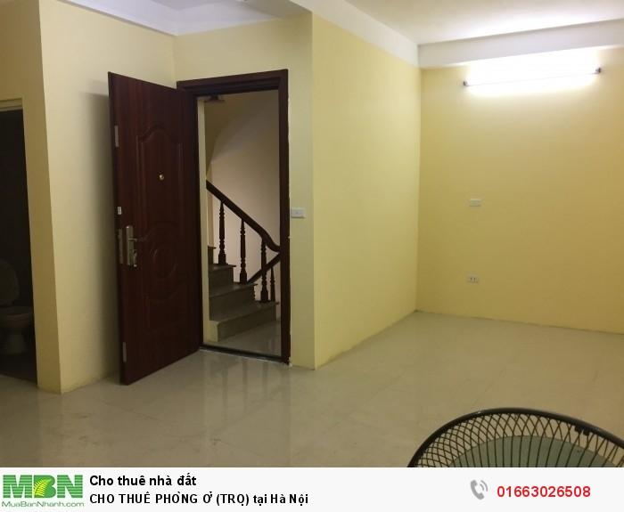 Cho Thuê Phòng Ở (Trọ) Tại Hà Nội