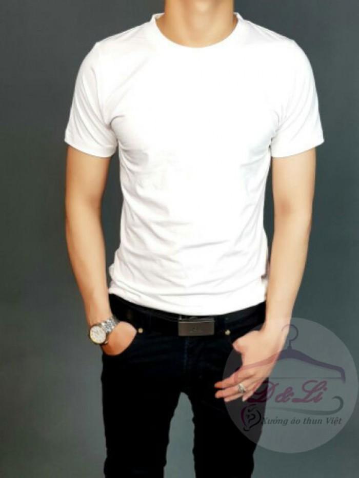 Áo thun trắng giá sỉ TPHCM1