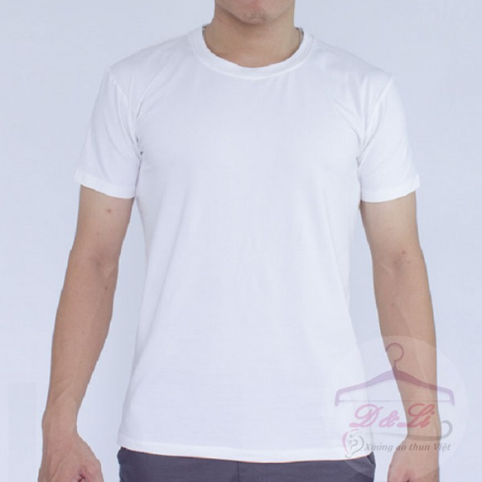 Áo thun trắng giá sỉ TPHCM8