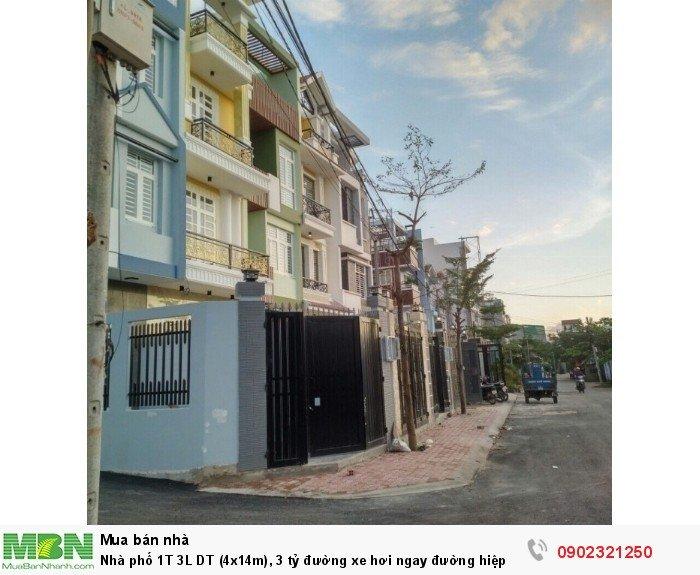 Nhà phố 1T 3L DT (4x14m), 3 tỷ đường xe hơi ngay đường hiệp bình sau THPT Hiệp Bình