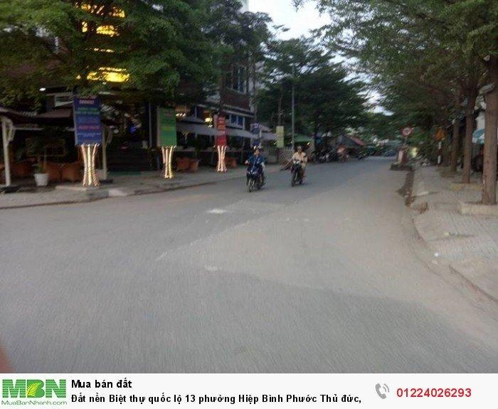 Đất nền Biệt thự quốc lộ 13 phường Hiệp Bình Phước Thủ đức, sổ riêng 37tr/m2