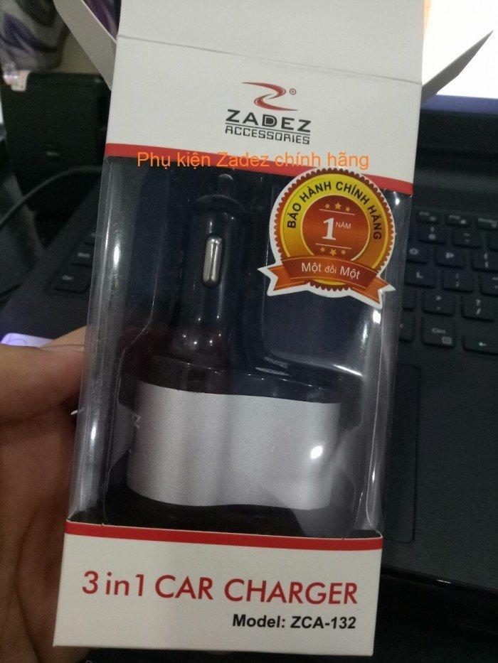 Cốc sạc xe hơi Zadez ZCA 132 chính hãng
