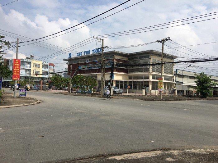 Bán 1 nền Lock A ( Duy Nhất ) Trung Tâm Thự Mại – Thủ Thừa Phú Thanh