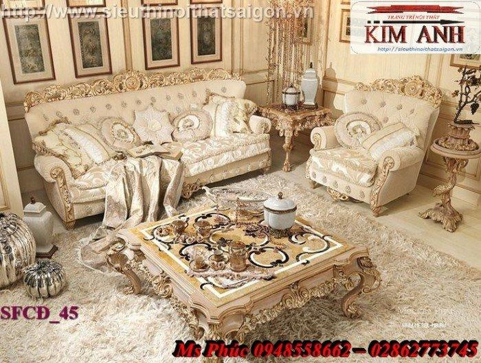 Sofa tân cổ điển sang trọng4