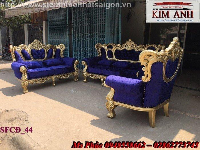 Các mẫu sofa tân cổ điển nhập khẩu châu âu hay sofa cổ điển giá rẻ tại Nội thất Kim Anh Sài Gòn đều được thiết kế với kiểu dáng tinh tế2