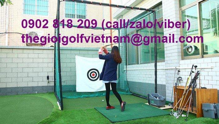 Bộ khung lưới tập golf tại nhà3