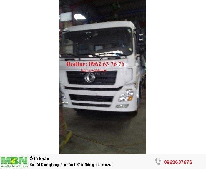 Xe tải Dongfeng 4 chân L315 động cơ Isuzu 0